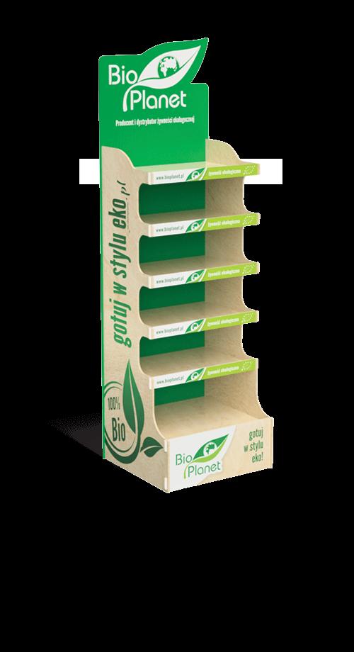 Display for organic food products - przykład produktu