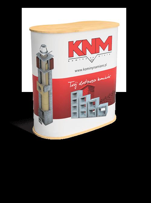 Lada targowa dla producenta systemów kominowych - przykład produktu