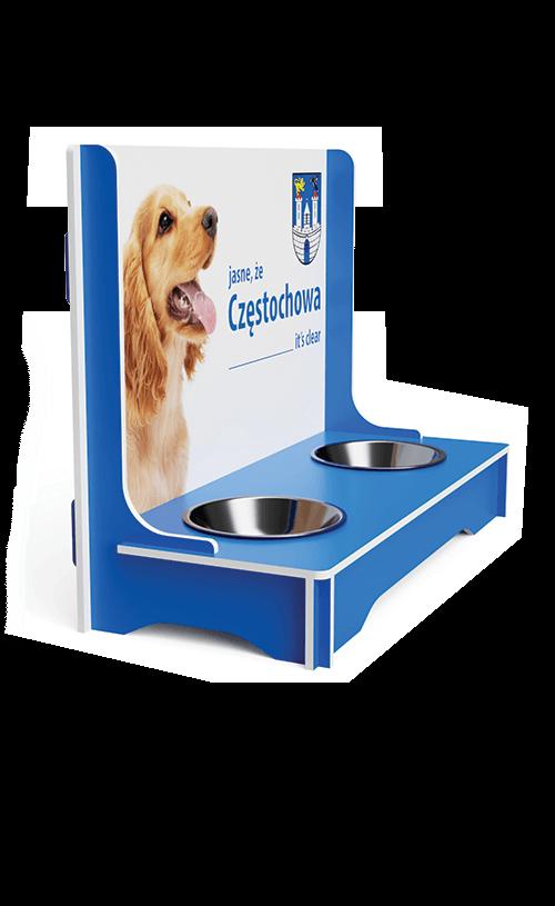 Miska dla psa reklama ekspozytor – Jowix - przykład produktu